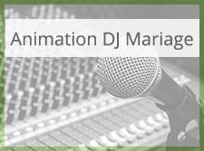 Animation DJ Mariage